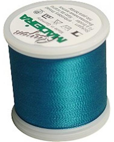 N°1091 Teal blue - Fil Madeira Rayon 200m