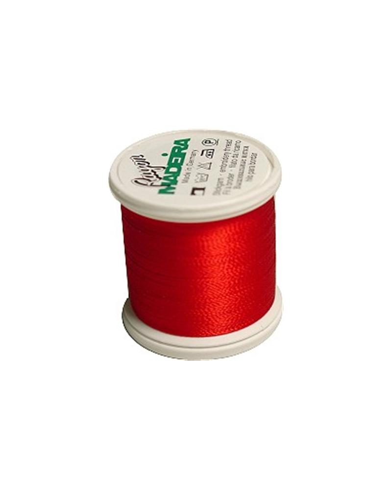 N°1147 Christmas red - Fil Madeira Rayon 200m