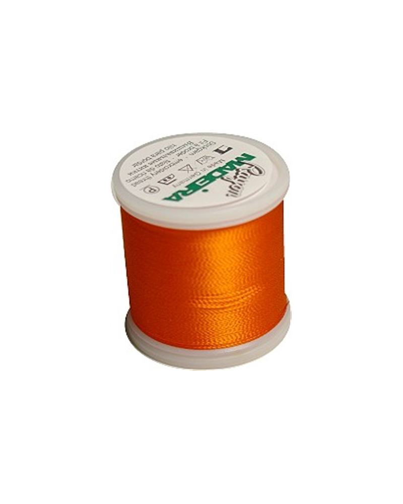 N°1078 Pumpkin - Fil Madeira Rayon 200m