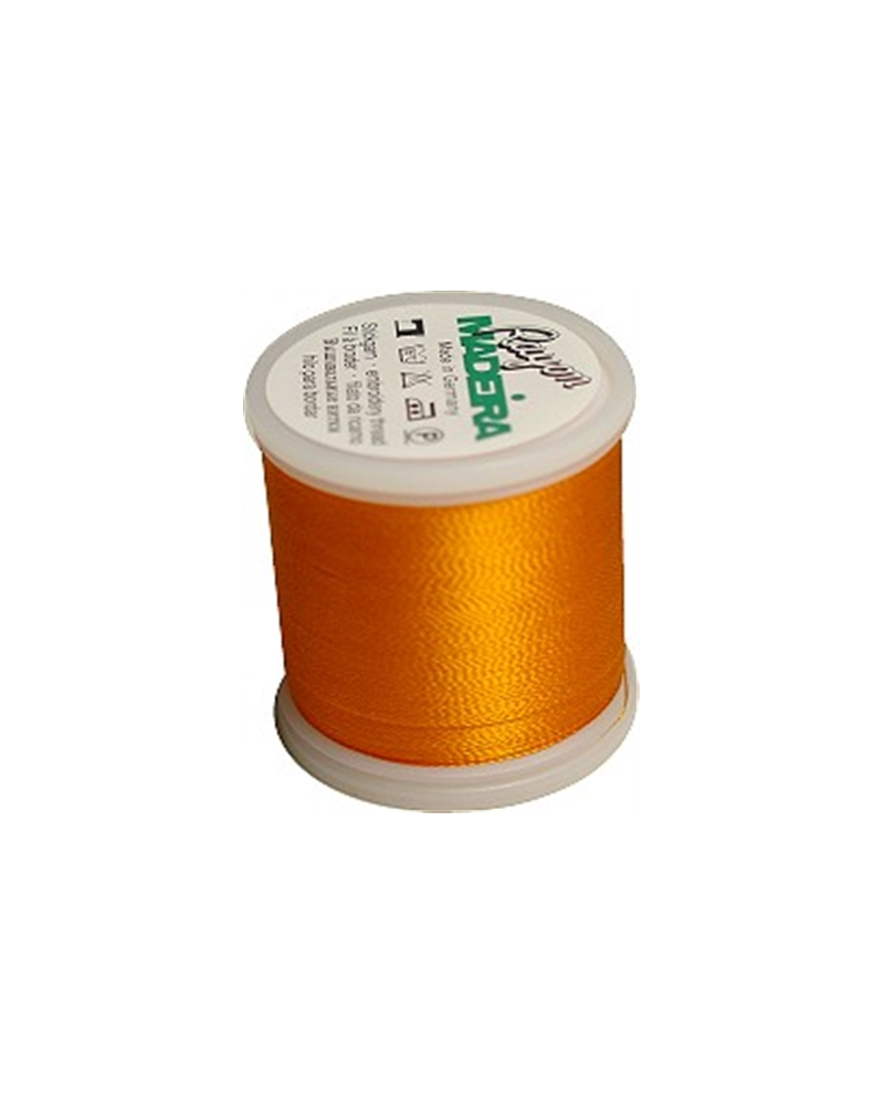 N°1278 Orange peel - Fil Madeira Rayon 200m