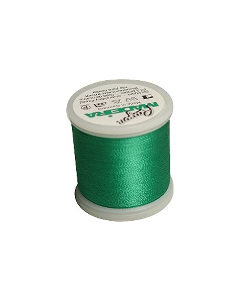 N°1247 Bottle Green - Fil Madeira Rayon 200m