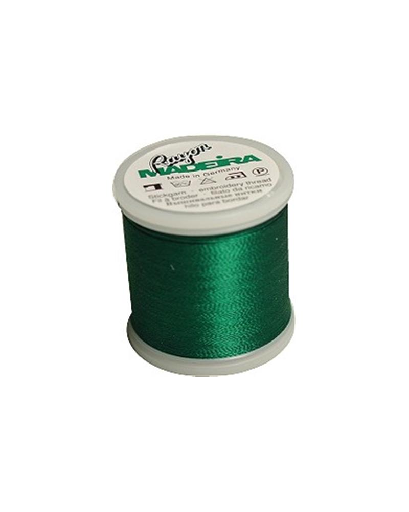 N°1250 Christmas green - Fil Madeira Rayon 200m