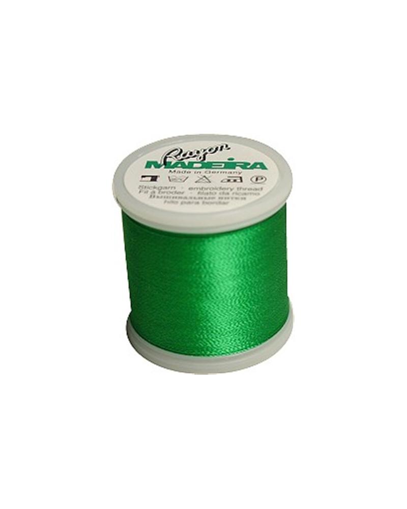 N°1251 Kelly green - Fil Madeira Rayon 200m