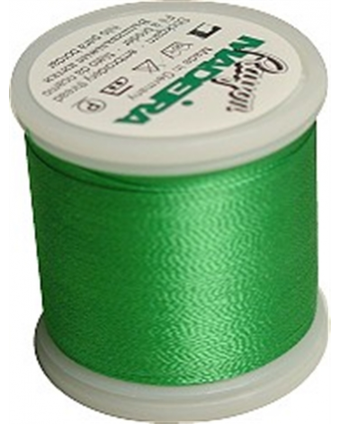 N°1101 Light emerald green - Fil Madeira Rayon 200m