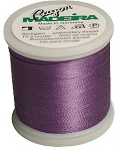 N°1032 Velvet violet - Fil Madeira Rayon 200m