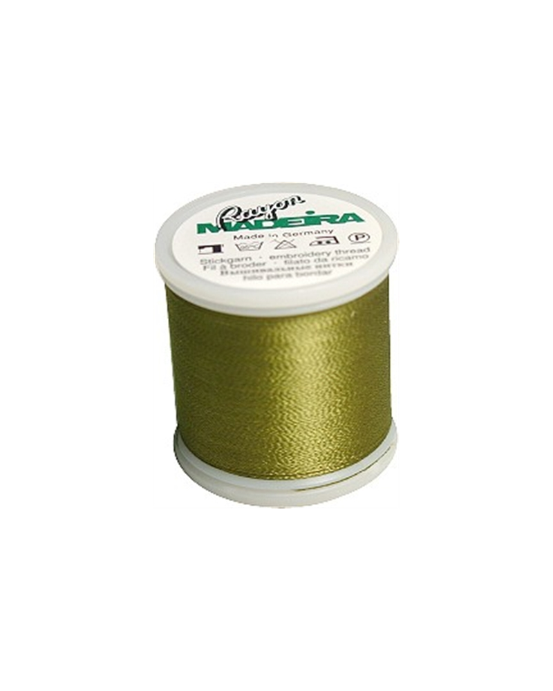 N°1156 Vert olive - Fil Madeira Rayon 200m
