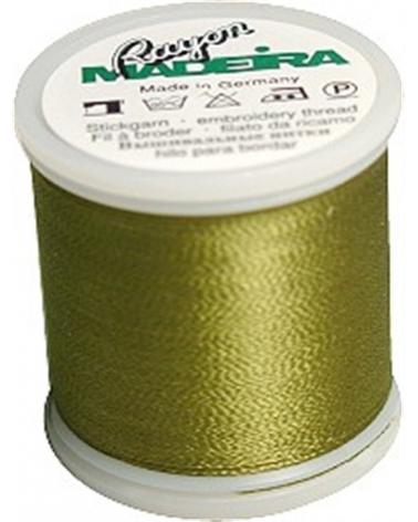 N°1156 Vert olive - Fil Madeira Rayon 200m