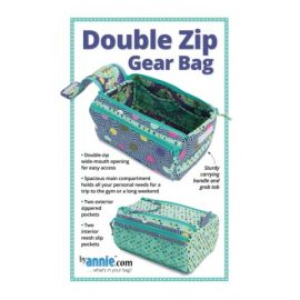 Double Zip Gear Bags