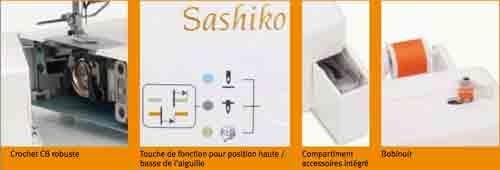 caractéristiques machine à coudre babylock sashiko coudre paris