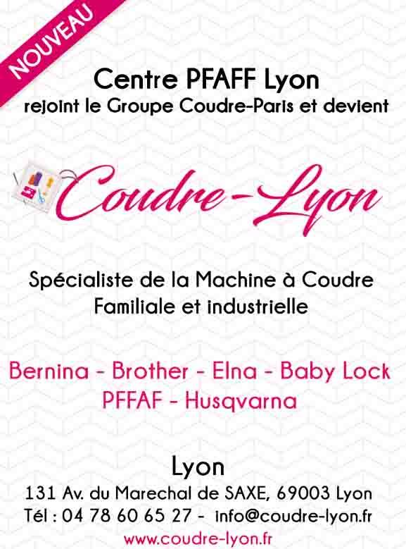 Coudre Lyon Pfaff Lyon