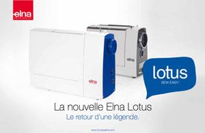Présentation machine à coudre Elna Lotus Coudre Paris