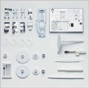 accessoires machine à coudre elna expérience 580