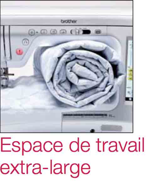 ESPACE TRAVAIL COUTURE BRODEUSE INNOV-IS V5 brother