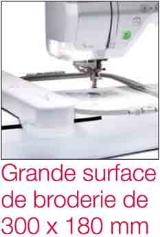 surface de broderie machine à broder brother Innov'is V3