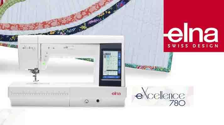 Découverte De La ELNA EXcellence 40 Sur Point Couture Adorable Elna 780 Sewing Machine
