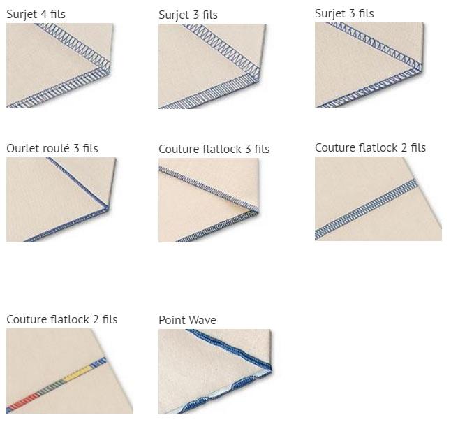 la surjeteuse est le compl ment id al de votre machine coudre permet de couper piquer et. Black Bedroom Furniture Sets. Home Design Ideas