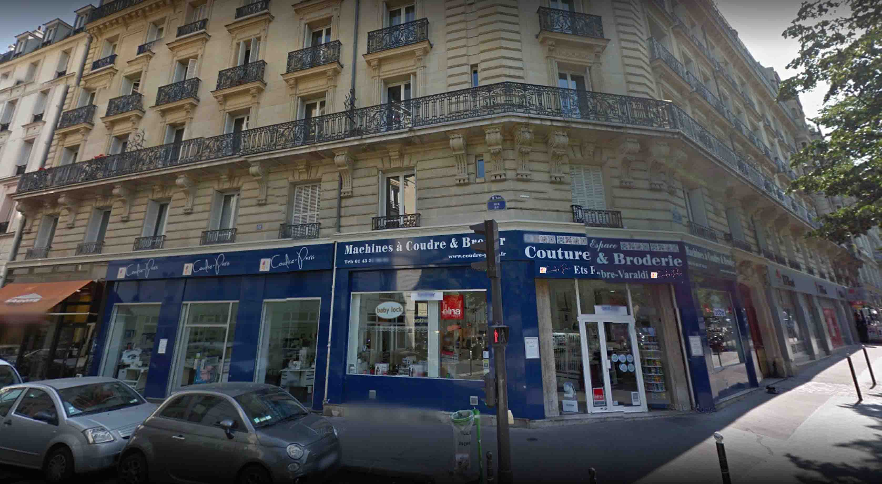 Notre magasin à Paris Coudre Paris vente machine à